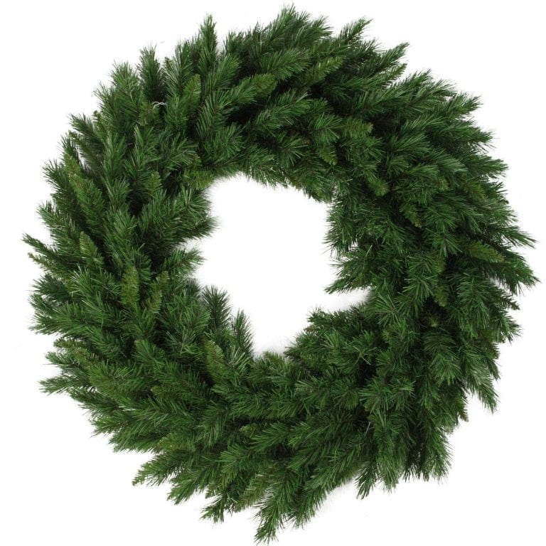 Northlight V03944 Lush Mixed Pine Artificial Christmas Wreath