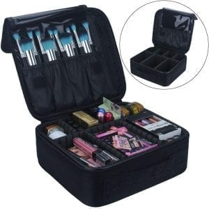 Relavel Travel Makeup Organizer