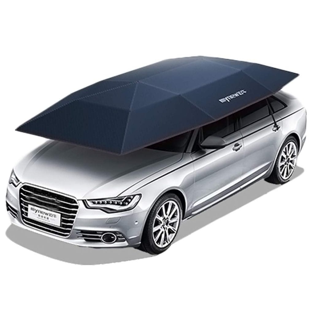 Yoton Exterior Accessories Portable Semi-auto Outdoor Car Umbrella