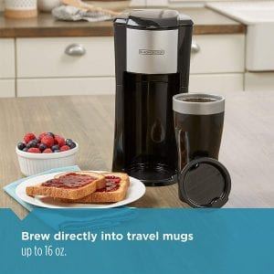 BLACK+DECKER Personal Coffeemaker