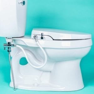 GenieBidet Seat with Self Cleaning Nozzles