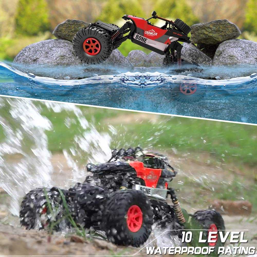 JIEUSDIRECT RC Car high Speed off Road Toy Car