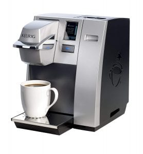 Keurig K155 Commercial Single-Serve K-Cup Pod Coffee Maker [Silver]