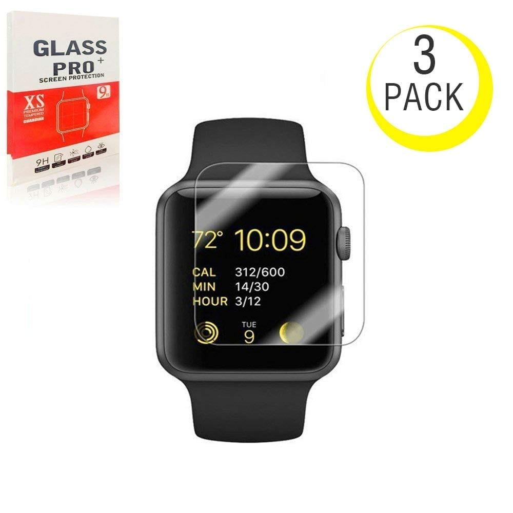 NiceFuse [3 Pack] Screen Protector for Apple Watch