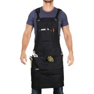 Premium Workshop Apron for Men and Women with Tool Pockets