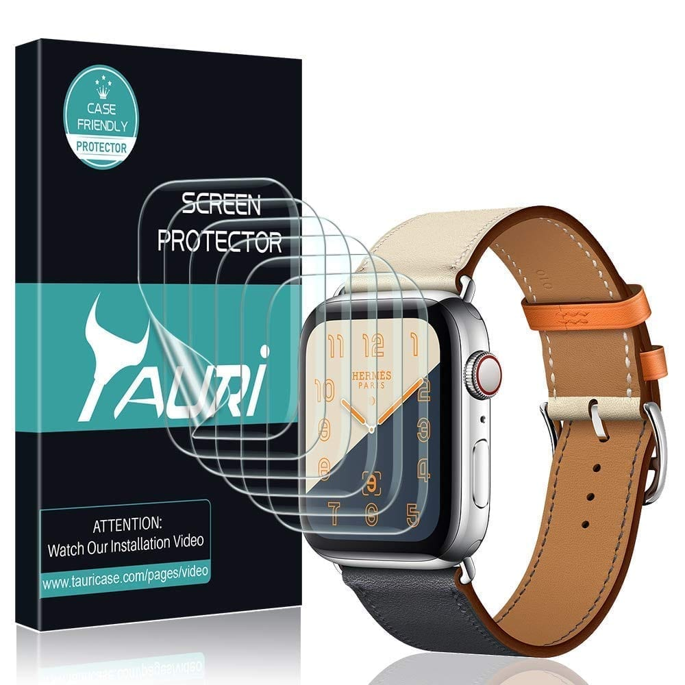 TAURI for [6-Pack] Apple Watch Screen Protector