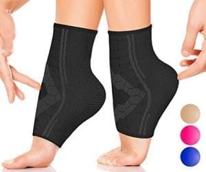 Ankle Compression Sleeve by SPARTHOS