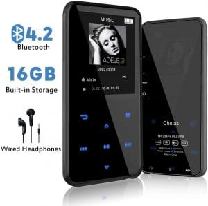 Cholas MP3 Player with Bluetooth
