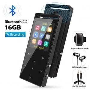 Grtdhx MP3 Player with Bluetooth