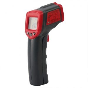 HDE Temperature Gun Infrared Thermometer w: Laser Sight