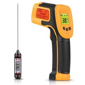 Sovarcate Infrared Thermometer, Digital IR Laser Thermometer Temperature