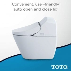 "Toto MS920CEMFG 12"" Washlet G400 Bidet seat with Integrated dual Flush"
