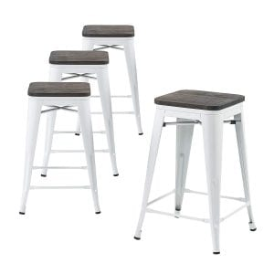 "Buschman Metal Bar Stools 24"" Counter Height"