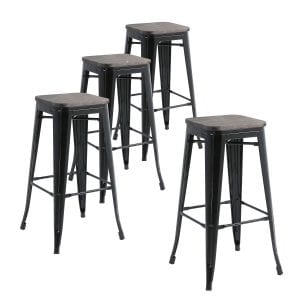 Buschman Metal Bar Stools
