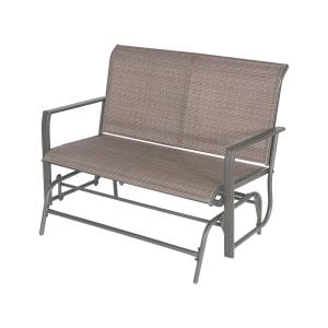 Cloud Mountain Patio Outdoor Glider Bench