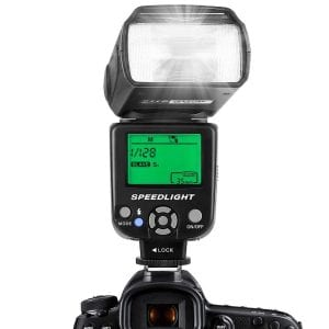 ESDDI Flash Speedlite for Canon DSLR Cameras