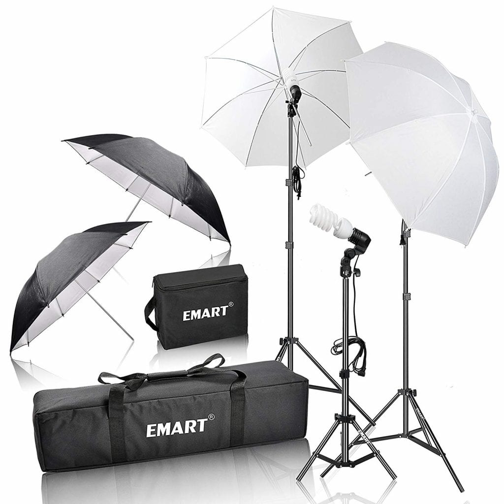 Emart Day-Light Umbrella Continuous Lighting Kit