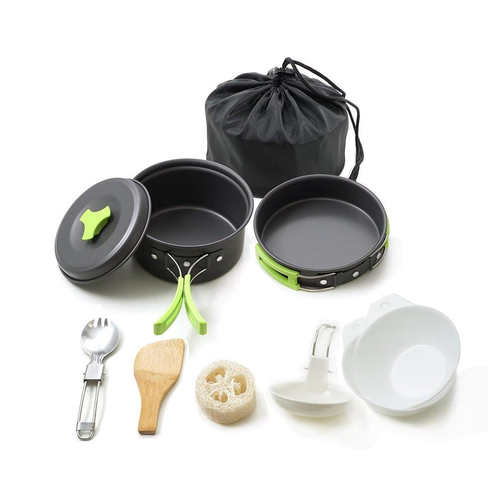 Honest Portable Camping cookware Mess kit