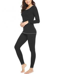 MAXMODA Women's Thermal Underwear Sets