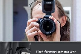 Professional flash light for canon cameras