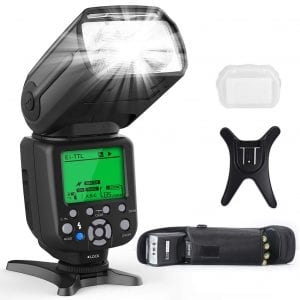 RALENO Flash Speedlite for Canon Nikon DLSR Cameras