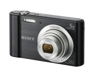 Sony DSCW800:B Digital Camera for travel