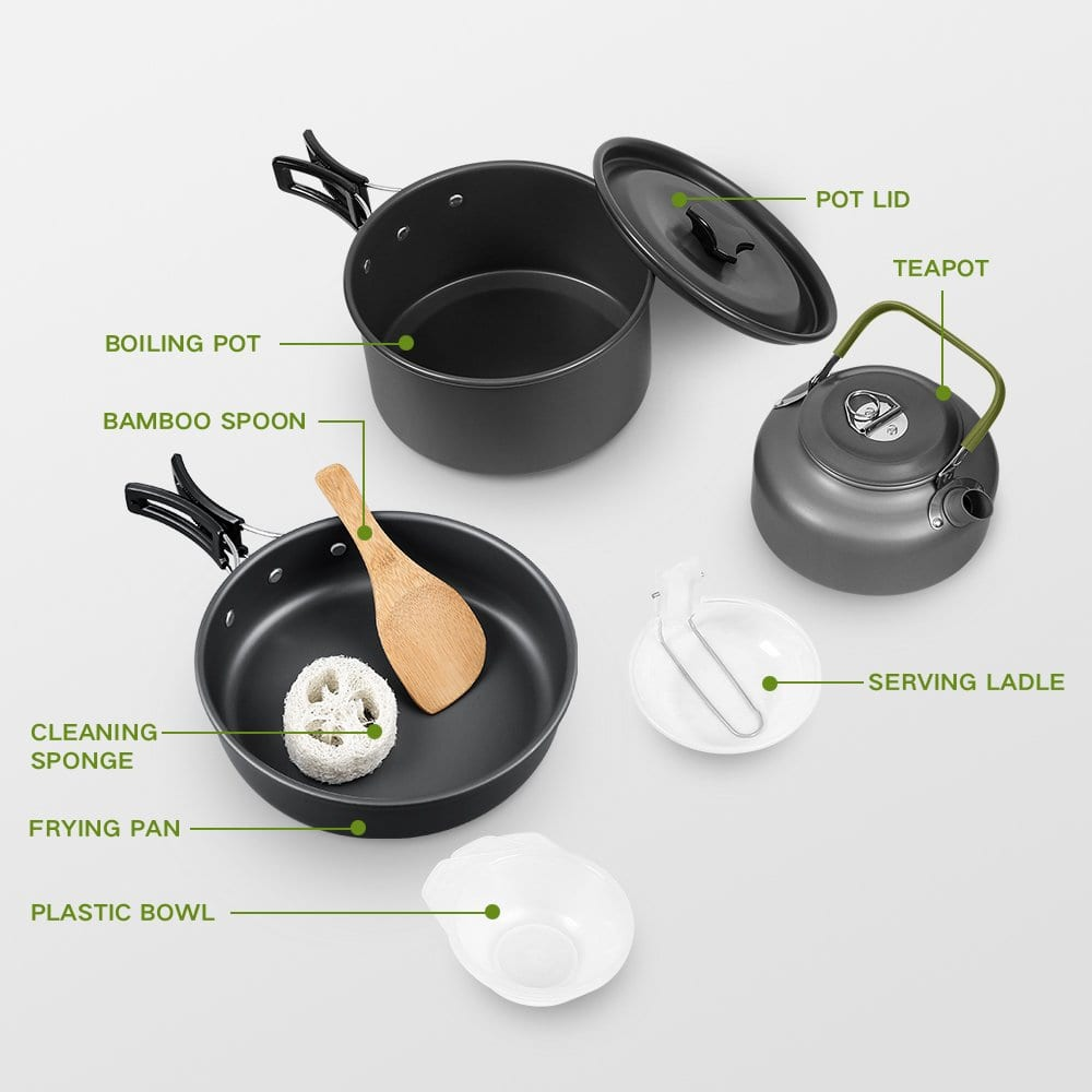 Terra Hiker Camping Cookware Set