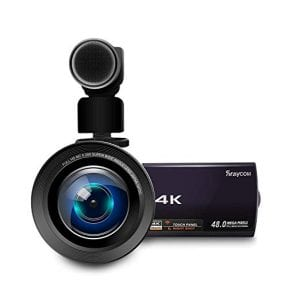 4K Video Camera Camcorder, Rraycom 48MP Ultra-HD WiFi Camcorders