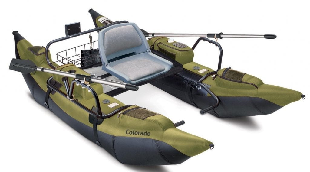 Classic Accessories Colorado Inflatable Fishing Boat With Motor Mount