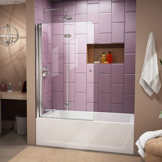 Frameless Bathtub Shower Doors