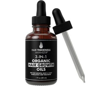 Hair Thickness Maximizer 3-in-1 Organic Hair Growth Oils