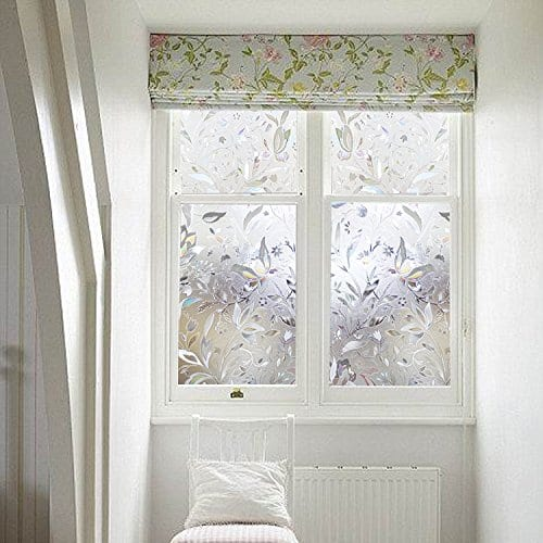 LEMON CLOUD Decorative Privacy Window No Glue Static 3D Films for Glass