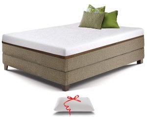 Live & Sleep Gel Memory Ultra Foam Mattress Twin XL Size - 12-Inch