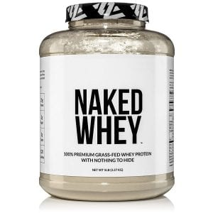 NAKED Whey Protein Powder 100% Grass Fed 5LB