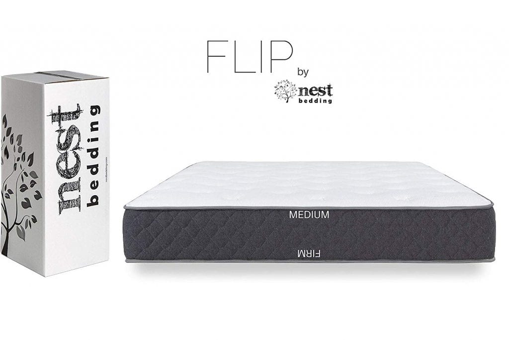Nest Bedding FLIP Hybrid Cooling Gel Foam Double Sided Mattress