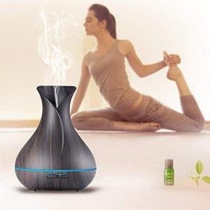 OliveTech Aroma Ultrasonic Cool Mist Essential Oil Diffuser