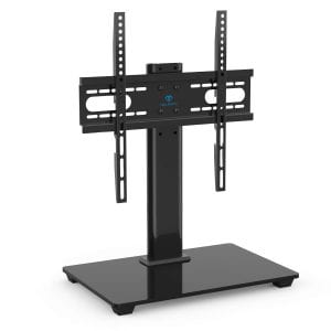 PERLESMITH Universal TV Stand - Table Top TV Stand