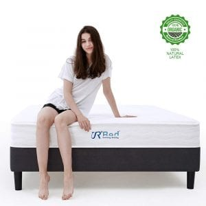 Sunrising Bedding Natural Latex Mattress 8 inch Queen Size