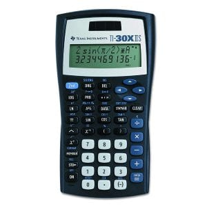Texas Instruments 2-line Scientific Calculator
