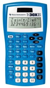Texas Instruments Fundamentals Two-Line Scientific Calculator
