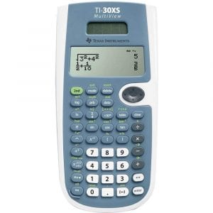 Texas Instruments MultiView Scientific Calculator, TI-30XS