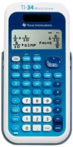 Texas Instruments T1-34 MultiVview Scientific Calculator