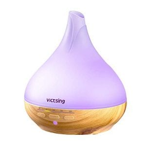 VicTsing Cool Mist Aromatherapy Ultrasonic Essential Oil Diffuser 330ml