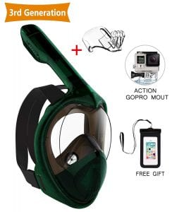 Doris Kids Snorkel Mask