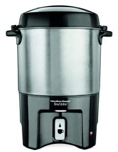 Hamilton Beach 40540 40-Cup Brew Station Coffee Urn