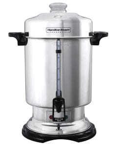 Hamilton Beach D50065 Commercial 60-Cup Stainless-Steel Coffee Urn,