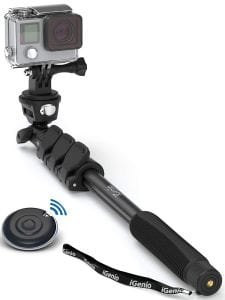 Selfie World Professional 10-in-1 Monopod Selfie Stick
