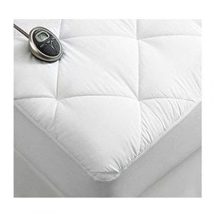 Sunbeam Premium Electric Heated Luxury Quilted Mattress Pad