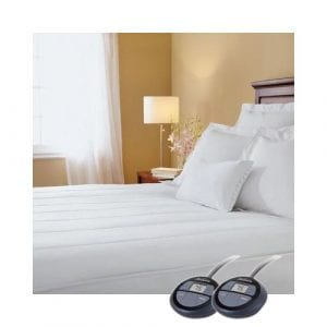 Sunbeam Quilted Heated Mattress Pad King Size