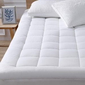 oaskys King Mattress Pad Cover Cooling Mattress Topper